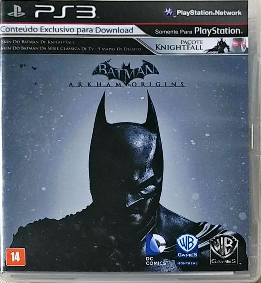 Jogo De Ps3: Batman Origins - A Venda No Mercado Livre!