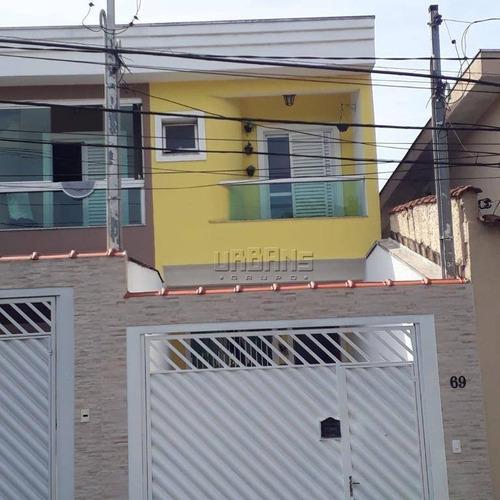 Sobrado Residencial À Venda, Jardim Alvorada, Santo André - So0032. - So0032