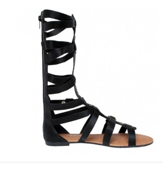 Sandália Dakota Rasteira Gladiadora Alta S9873