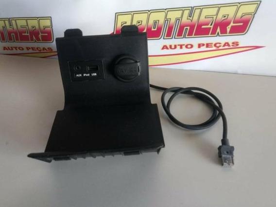 Porta Usb Hb20 + Acabamento Do Console + Porta 12 V + Cabo
