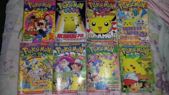 Revistas Pokemon Club / Evolution - Diversas Edições