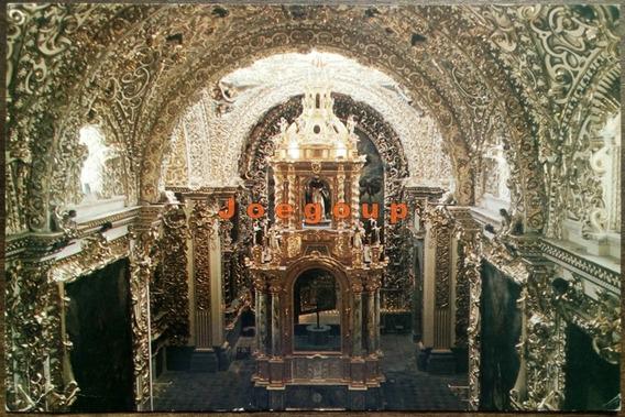 Postal Grande Capilla De La Virgen Del Rosario Puebla Mexico