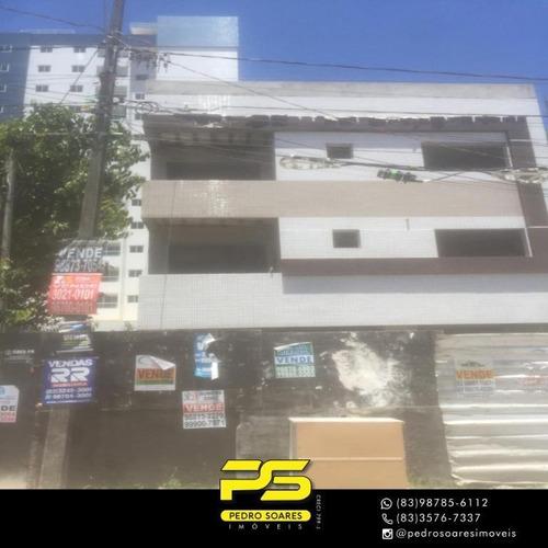 Apartamento Com 2 Dormitórios À Venda, 65 M² Por R$ 220.000,00 - Bessa - João Pessoa/pb - Ap3898