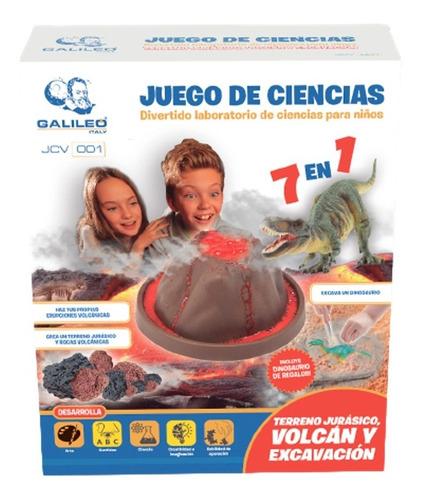Volcan Y Excavación Jurasica Ciencias Galileo