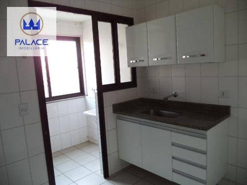 Apartamento À Venda, 70 M² Por R$ 265.000,00 - Centro - Piracicaba/sp - Ap0592