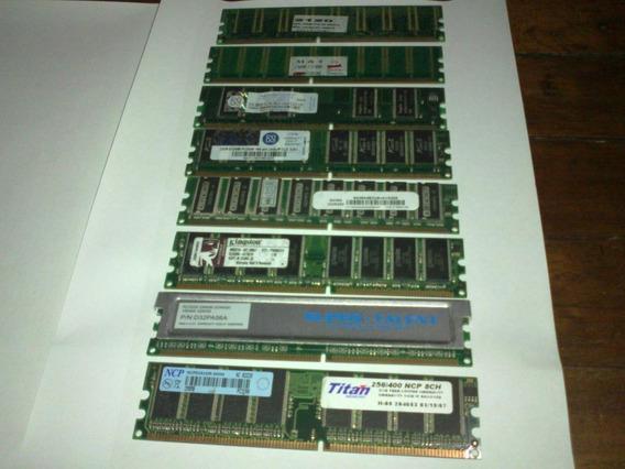 Memorias Ram Ddr 256mb (266-333-400) / 2700-3200