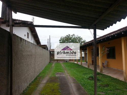 Casa Com 2 Dormitórios À Venda, 115 M² Por R$ 280.000,00 - Pontal De Santa Marina - Caraguatatuba/sp - Ca2885