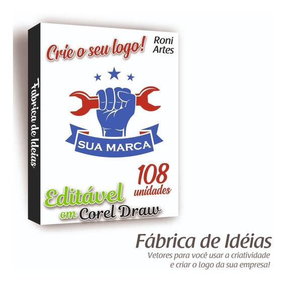 Criação De Logotipos 108 Idéias De Logo Editável Em Corel Draw