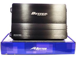 Planta Better 1200w 4canales Amplificador Bt 4700 472