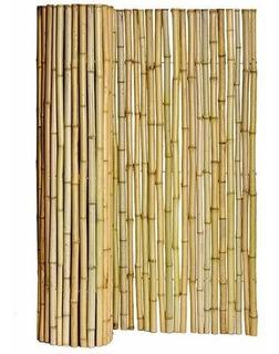 Cerco De Cañas Bambu Tacuara 100x200 Cm La Mejor Calidad