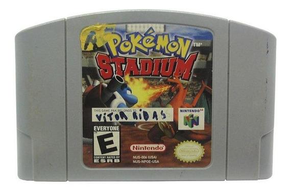 Pokémon Stadium N64 Mídia Física Pronta Entrega