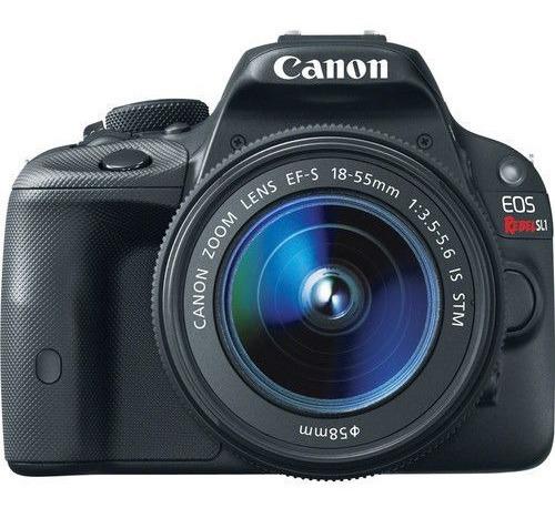 Canon Sl1 + Lente 24mm/3 Baterias/mochila/lente 18-55mm