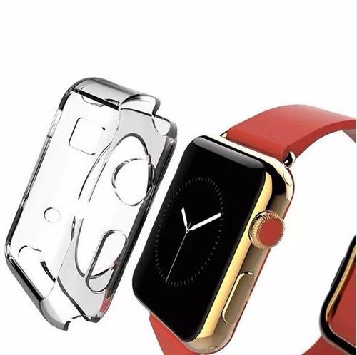 Imagen 1 de 5 de Estuche Ultraslim Apple Watch 40mm 44mm + Protector Pantalla