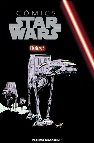 Cómics Star Wars  Libro 4 - Clasicos 4 / Planeta Deagostini