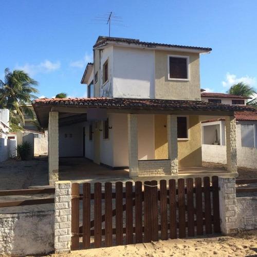 Casa Com 4 Dormitórios À Venda, 187 M² Por R$ 140.000,00 - Praia De Búzios  - Nísia Floresta/rn - Ca7275