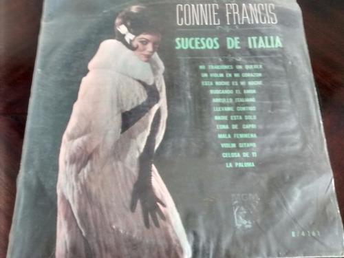 Vinilo Lp De Connie Francis - Sucesos De Italia (u1116