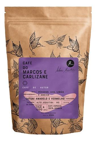 Imagem 1 de 1 de Café Do Marcos E Carlizane 250g - Moído