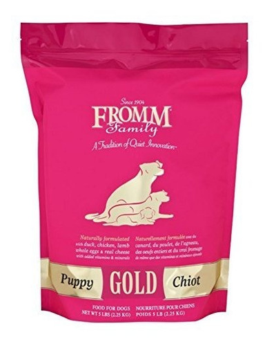Fromm Puppy Gold Dry Dog Food Bolso De 5 Libras