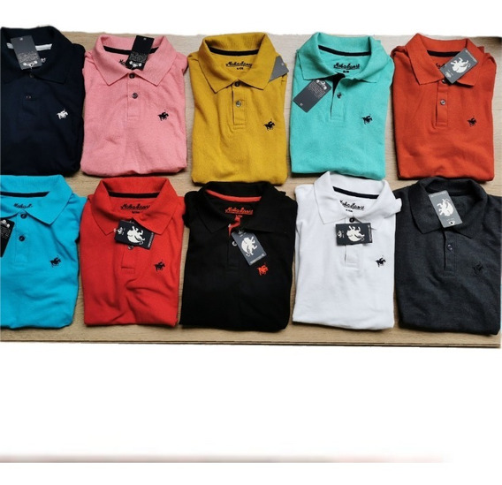 Playera Polo Slim Fit , Juvenil Maba.