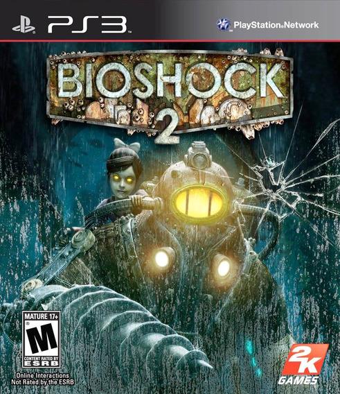 Jogo Bioshock 2 Playstation 3 Ps3 Mídia Física Oriignal Game