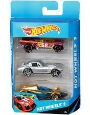 Set De Autos Surtidos X 3 Hot Wheels Mattel Hot Wheels