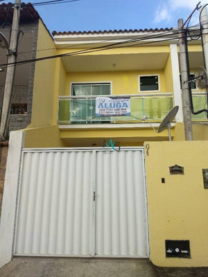 Casa Com 2 Dormitórios Para Alugar, 85 M² Por R$ 1.400/mês - Campo Grande - Rio De Janeiro/rj - Ca0360