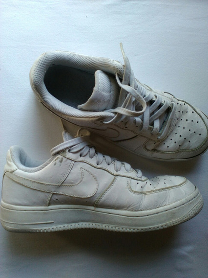 Zapatillas Nike 40,5 Us 7.5 Cuero Blancas