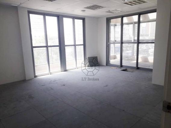 Sala Para Alugar, 52 M² Por R$ 3.500/mês - Vila Cordeiro - São Paulo/sp - Sa0361