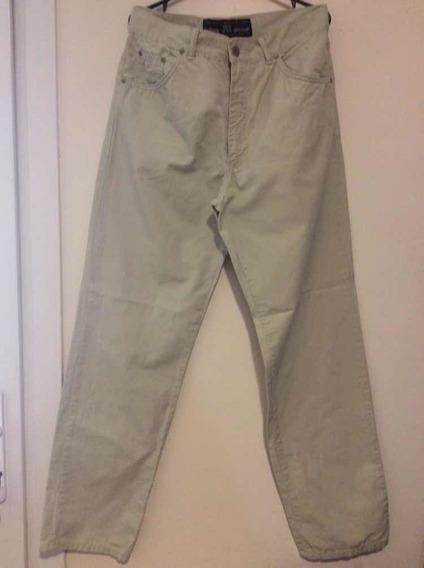 New Man-pantalón Jeanhombre GabardinaTalle 34.color Cemento