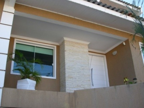 Belíssimo Sobrado Triplex No Bairro Jd.iguaçu/araucária - S-421 - 3225825