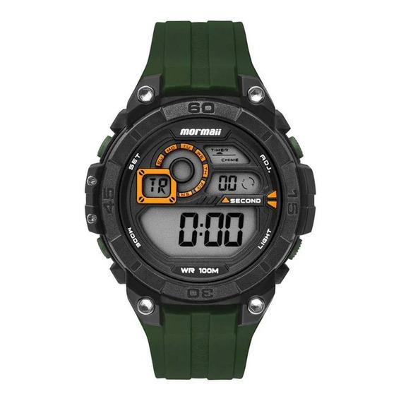 Relógio Mormaii Mo2019ab/8v Mo2019 8v Preto Verde G-shock