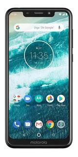 Celular Motorola Moto One 64gb/4gb C/ Leitor Biométrico Capa