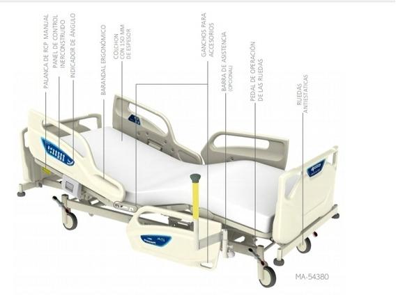 Cama Eléctrica A5 Series. Paramount Bed. Prevención Caídas.