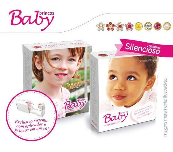 Brinco System 75 Baby Studex Bebe 6 Pares