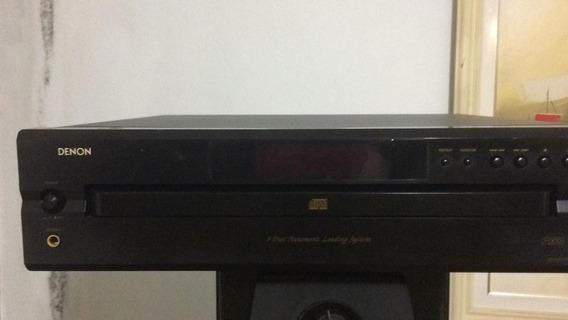 Denon Dcm-390 5 Cds Carrocel/ Mp-3 Controle Perfeito Yamaha