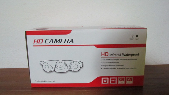Hd Camara Ip Bullet 2mp Infrarrojo Plug And Play