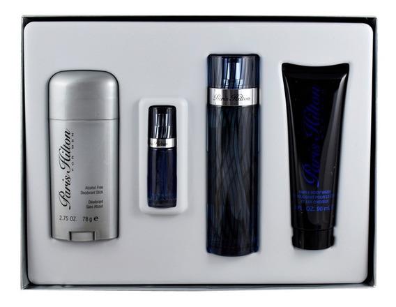 Set Paris Hilton 4pzs 100 Ml Edt + Desodorante 78 G +shower