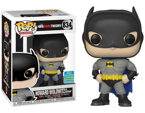 Funko Howard De Batman Big Bang Theory 834 Limited
