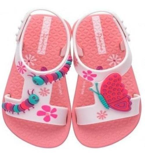 Sandalia Ipanema Infantil Menina Diversao Baby - 26339 Rosa