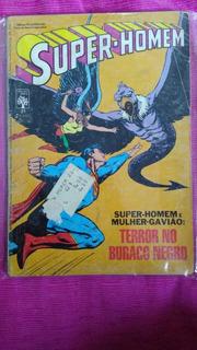 Super-homem E Mulher-gavião: Terror No Buraco Negro Nº21 Hq