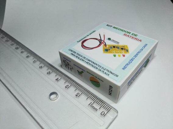 Kit Para Montar Medidor De Bateria 12v