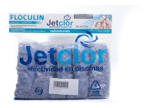 Imagen 1 de 3 de Floculin Alguicida + Clarificante Jetclor Por 1 Kilo