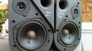 Usado Como Monitor De Estudio Yamaha, Bafles Parlantes Japon