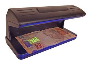 Detector Nota Falsa Dinheiro Cédula Dolar Euro Moeda Loja