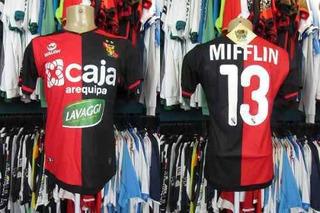 Melgar 2019 Camisa Titular Tamanho P Número 13 Mifflin.