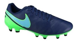 Chuteira Nike Tiempo Genio 2 Lthr Fg Forma Peq + Nf Ctsports