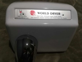 Secamanos Marca World Dryer