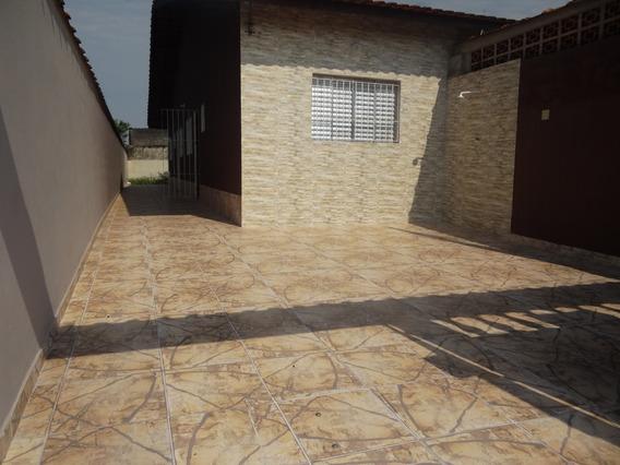 Casa Em Mongaguá R$ 160 Mil ,bairro Itaguaí Ref : 6138 D