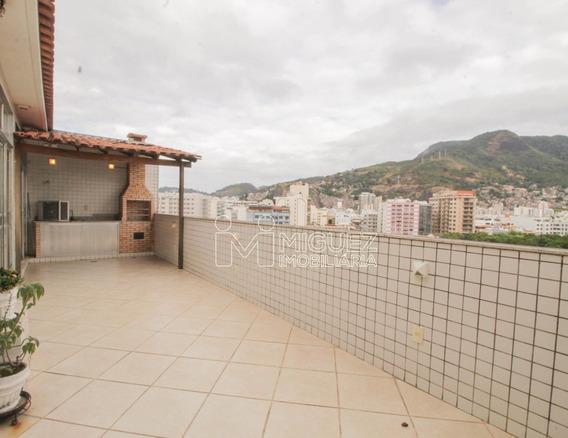 Cobertura À Venda Em Maracanã, Rio De Janeiro - Rj - 9864