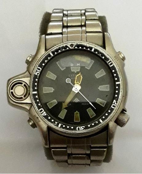 Relógio Citizen Aqualung Classic Silver.